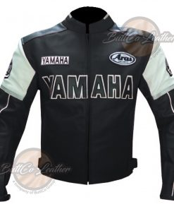 YAMAHA BIKERS LEATHER GEAR front