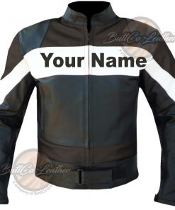 CUSTOM HEAVY BIKE BROWN LEATHER GEAR front