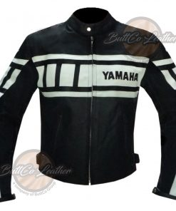 YAMAHA 0120 LAMBSKIN LEATHER COAT front
