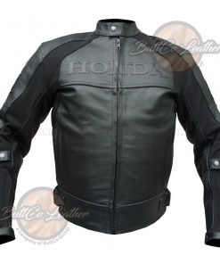 HONDA HEAVY BIKE LEATHER GEAR front