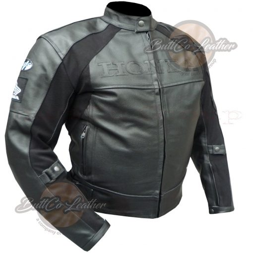 HONDA HEAVY BIKE LEATHER GEAR side