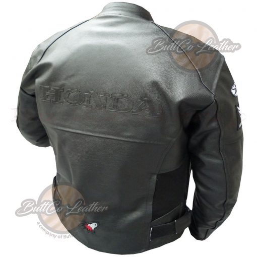 HONDA HEAVY BIKE LEATHER GEAR back3