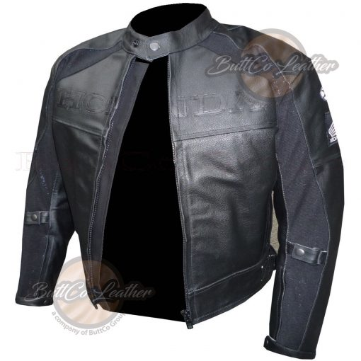 HONDA HEAVY BIKE LEATHER GEAR open