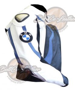 BMW MOTORCYCLE LEATHER JACKET side2