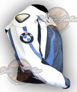 BMW MOTORCYCLE LEATHER JACKET right side