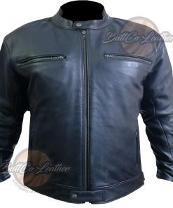 CUSTOM MOTORCYCLE LEATHER GEAR front