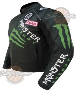 YAMAHA MONSTER LEATHER GEAR side