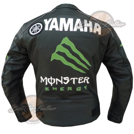 YAMAHA MONSTER LEATHER GEAR back